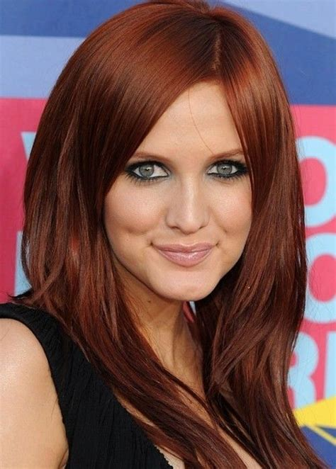 red hair color  fair skin  blue eyes google