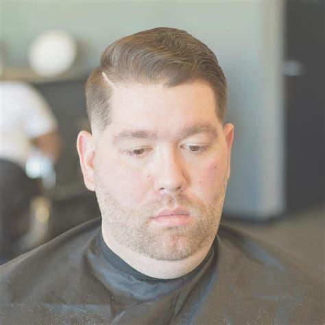 hairstyle  fat face men bentalasaloncom