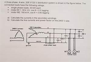 Solved  A Three 120 V Distribution Sy