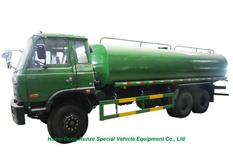 22 Ton Stainless Steel Water Tanker Truck With Water Pump