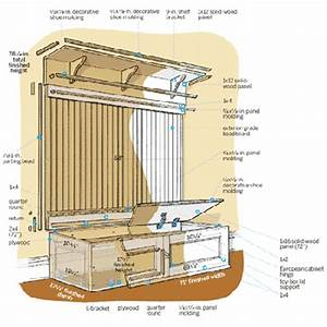 Overview How to Build a Mudroom Bench This Old House
