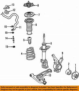 Toyota Oem Front Stabilizer Sway Bar