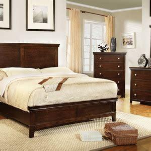 furniture of america ariege transitional platform bed