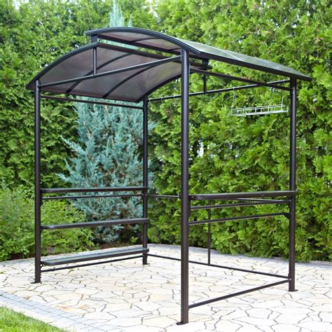 how to decorate a small living outdoor hardtop grill gazebo house decorations and