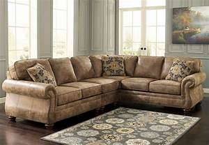 Traditional leather sofa set traditional sectional sofa for Sectional sofa set up