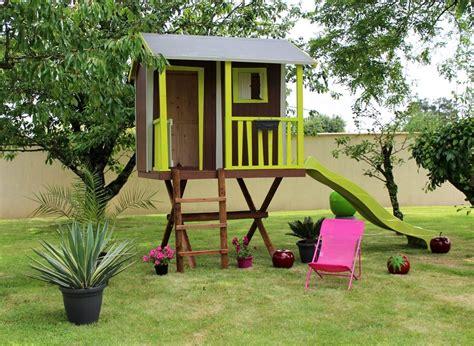 chambre cabane dans les arbres cabane enfant dans les arbres soulet en bois jardideco