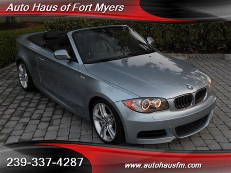 2011 Bmw 135i Convertible Ft Myers Fl For Sale In Fort