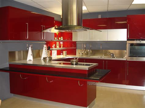cuisines rouges granite realisations