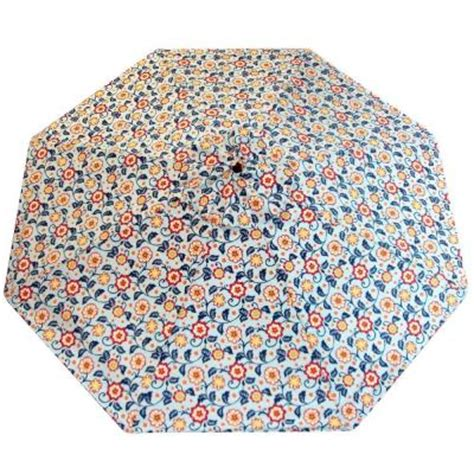 plantation patterns 11 ft patio umbrella in floral