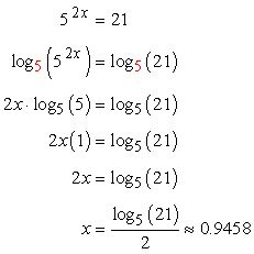 Solving Exponential Equations Using Logarithms Chilimath