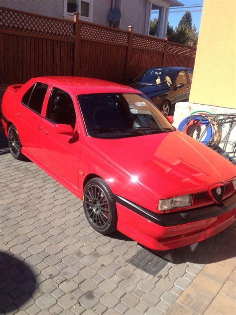 Alfa Romeo On Ebay by Ebay Find 1993 Alfa Romeo 155 Q4 Sedan Carscoops