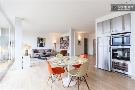 louer grand appartement avec deco vintage  vue sur paris