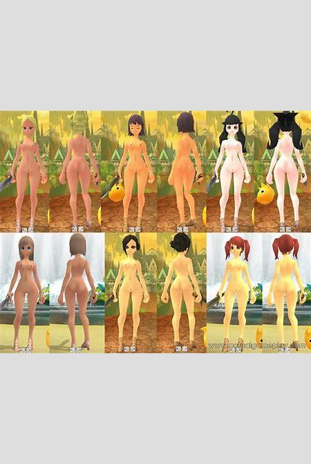 Grand Fantasia Nude Character Mod - Actual GamePlay
