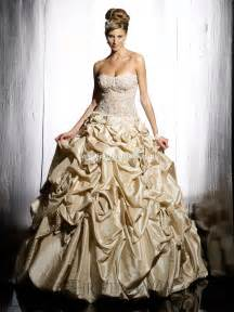 and gold wedding dress top ten wedding dress style in 2013 gold wedding inspiration trends