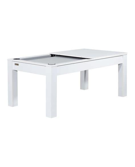 table billard convertible delhi blanc gris pas cher