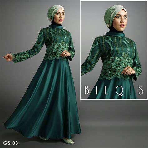 inspirasi model baju long dress wanita   pesta