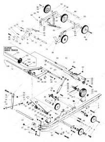 Ski Doo 1997 Skandic Wide Track - Skandic Super Wide Track  Rear Suspension