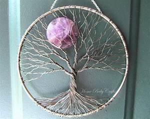 Tuto Attrape Reve Arbre De Vie : amethyst sun catcher tree of life arbre de vie arbres ~ Voncanada.com Idées de Décoration