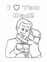 Coloring Dad Pages Daddy Daughter Mum Kiss Printable Super Print Cheek Colouring Daddys Little Loves Mom Getdrawings Colorings Template Coloringsky sketch template
