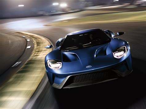 Ford Gt Delivers Highest Top Speed, Fastest Lap Times On
