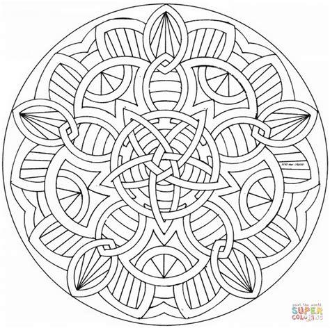 Celtic Mandalas To Color Wwwpixsharkcom Images
