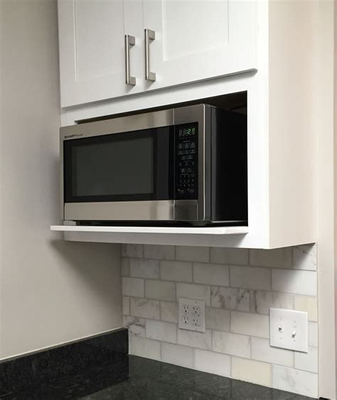 Shelves For Kitchen Cupboards by Microwave Shelf Edgewood Ideas In 2019 Microwave