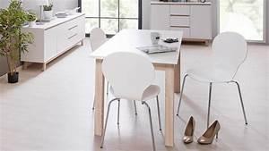 Tisch Eiche Weiß : esstisch apart 7 tisch esszimmertisch in wei sonoma eiche 140 190 cm ~ Indierocktalk.com Haus und Dekorationen