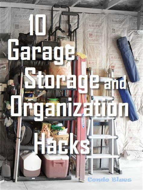 garage storage  organizing hacks pinterest