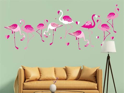 Flamingo Wandtattoo Kinderzimmer by Wandtattoo Flamingos My Wallsticker De