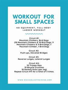 Intense Workout You Can Do In A Small Space