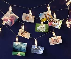 Usb, Led, Photo, Clip, String, Lights, 10, Leds, Warm, White, As, Decorative, Lighting