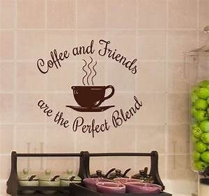 Coffee and Friends are the Perfect Blend Wall Decal Decor ...