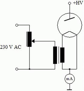 high voltage With ray circuit diagram