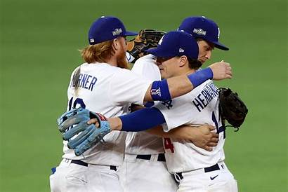 Dodgers Braves Championship League National Beat Win