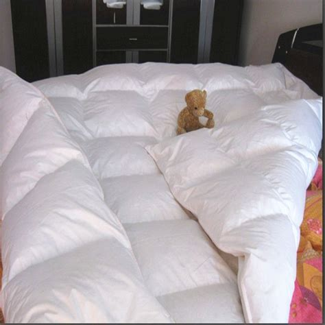 goose feather comforter duvet filled white goose feather 25 oz tog value 4