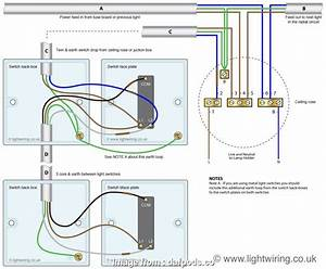 How To Wire  Gang 3  Switch New One  Dimmer Switch Wiring Diagram Concer  And Webtor Me 3