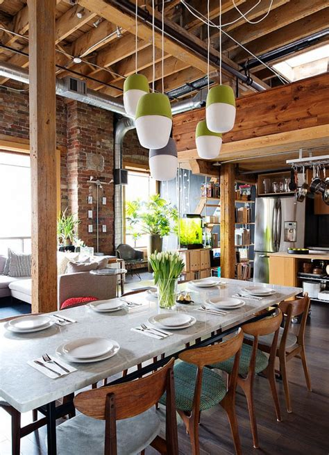 decoration chambres 30 façons de créer une ambiance industrielle dans un salon
