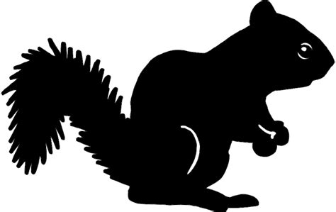 squirrel silhouette dxf file   axisco