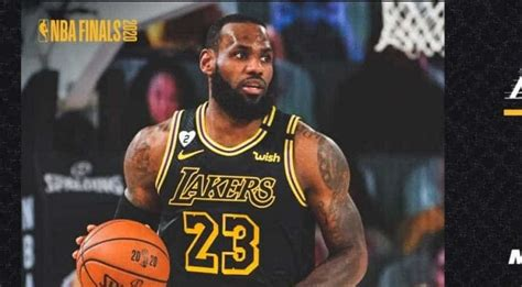NBA Finals: LA Lakers to wear 'Mamba jersey' in game 5 ...