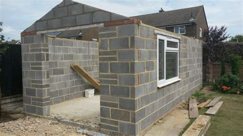 extensions  garages john power brickwork