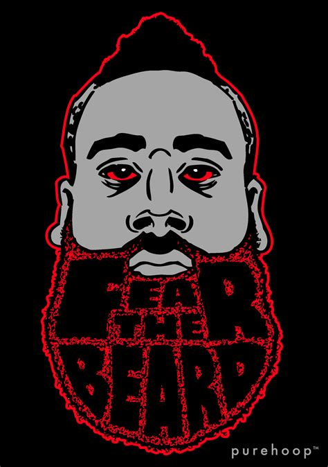 James Harden Rockets Fear the Beard