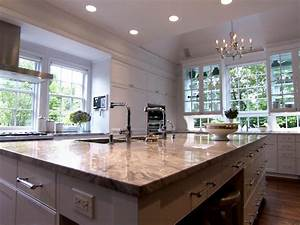 peninsula kitchen design pictures ideas tips from hgtv With custom eat in kitchen designs