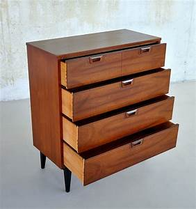Select, Modern, Mid, Century, Highboy, Dresser, Or, Gentleman, U0026, 39, S, Chest, Of, Drawers