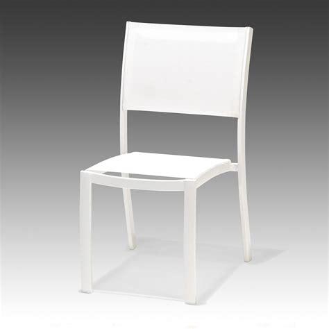 chaise de jardin blanche chaise de jardin blanche