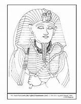 Coloring Coffin Lesson Pages Plan Tutankhamen Teacherspayteachers Plans sketch template