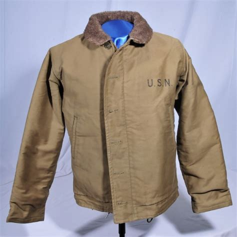 N1 Deck Jacket Reproduction by Nostalgia On Wheels The Wwii Usn N 1 Deck Jacket