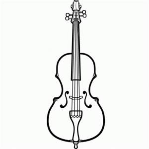 The gallery for --> Double Bass Outline