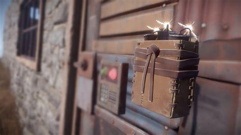 rust explosive charge rounds devblog sheet metal satchel exploit doors maurino berry wood