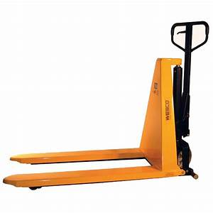 Manual High Lift Pallet Jack  27 U0026quot  X 44 5 U0026quot   2 200 Lbs