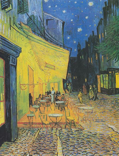 gogh cafe terrace at caf 233 terrace at